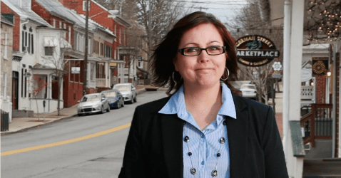 West Virginia senate candidate Paula Jean Swearingin