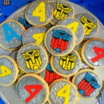 Transformer Sugar Cookies