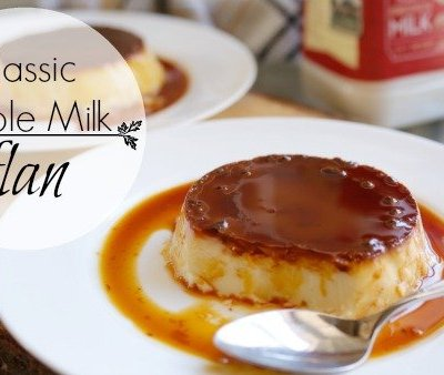 Classic Whole Milk Flan
