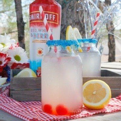 Boozy Sparkling Lemonade