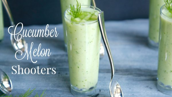 Cucumber Melon Shooters (adapted from The Chew)