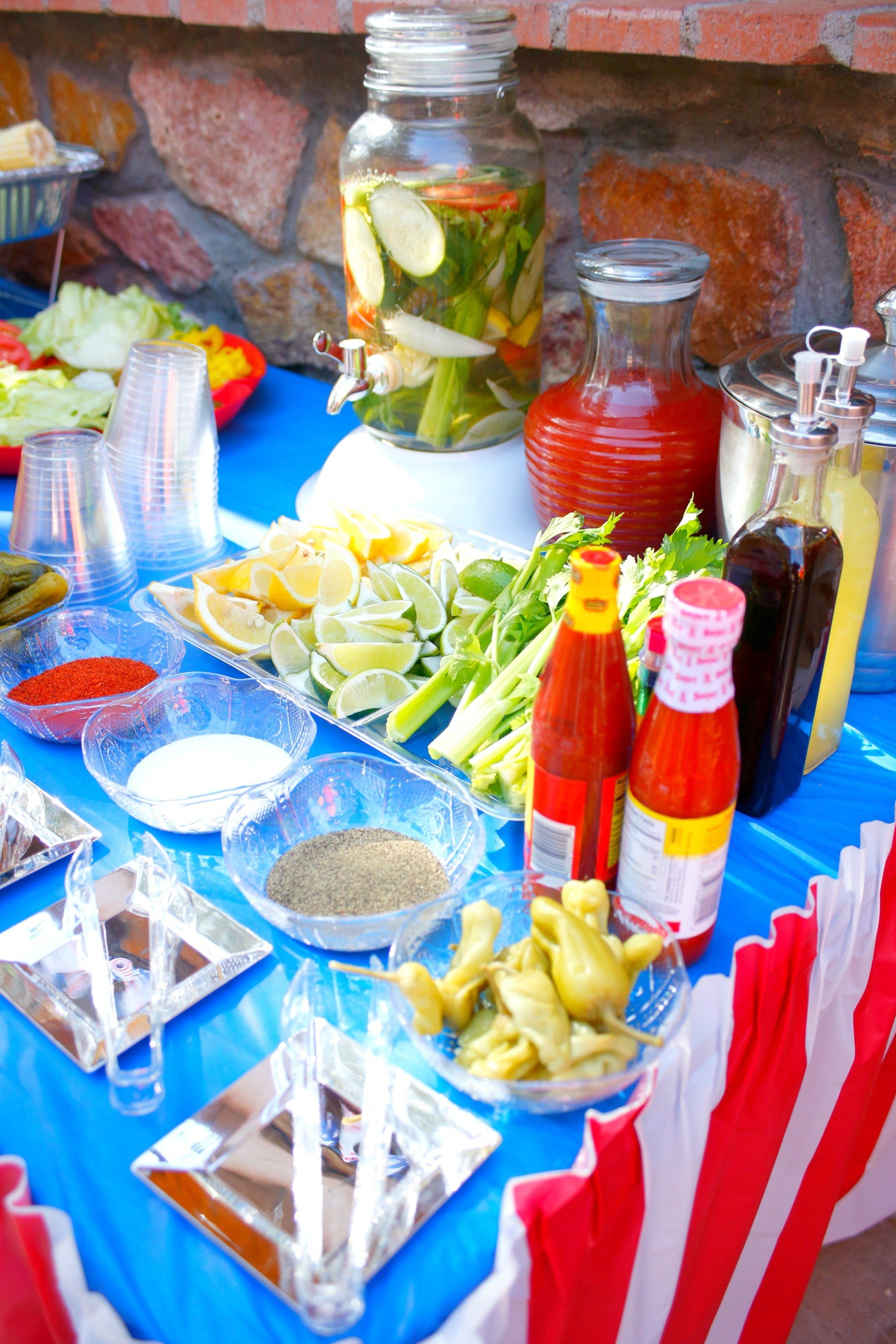 Set up the ultimate Bloody Mary Bar for your party