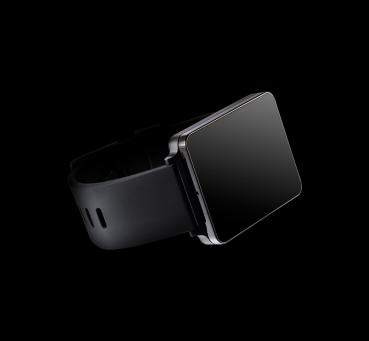 The LG G Watch in Stealth Black