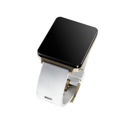 The LG G Watch in Champagne Gold