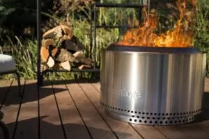 solo stove yukon review, what is solo stove, best smokeless fire pits