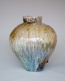"""ar, 2009, 26""""H, Wood Fired Indigenous Clay."""