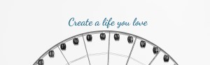 Ferris wheel with quote in blue saying ' create a life you love' . If you're are in the young adult range, life might feel crazy and chaotic right now. That is why we offer young adult therapy in texas or young adult therapy in indiana for those wanting to find balance. Email Jordan Therapy Services today for online therapy!