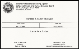 Masters of counseling certificate expiration for family counseling . If you're looking for a highly qualified professional, Laura Jordan, owner of Jordan Therapy Services is the person to go to. During this time, she has shifted to online therapy in texas or online therapy in indiana. She can also do message based therapy. Email today!