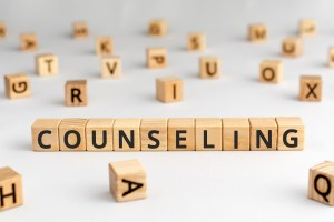 Blocks spelling out counseling. If you're looking for postpartum support in Texas or postpartum support in indiana. Contact Jordan Therapy Services for help with postpartum depression in indiana or Texas. We'd love to help you overcome your situation.