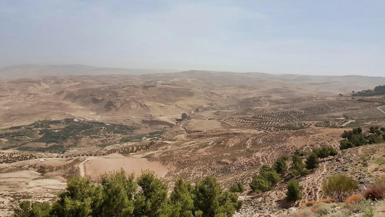 10 Days in Jordan - View from Madaba