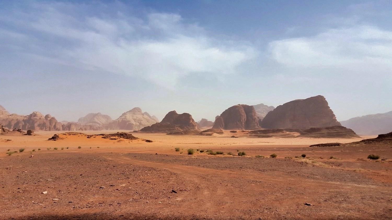 10 Days in Jordan - Wadi Rum View