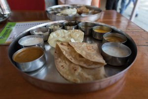 Thali, Vegetarian, India, Fort Cochin, Kochi