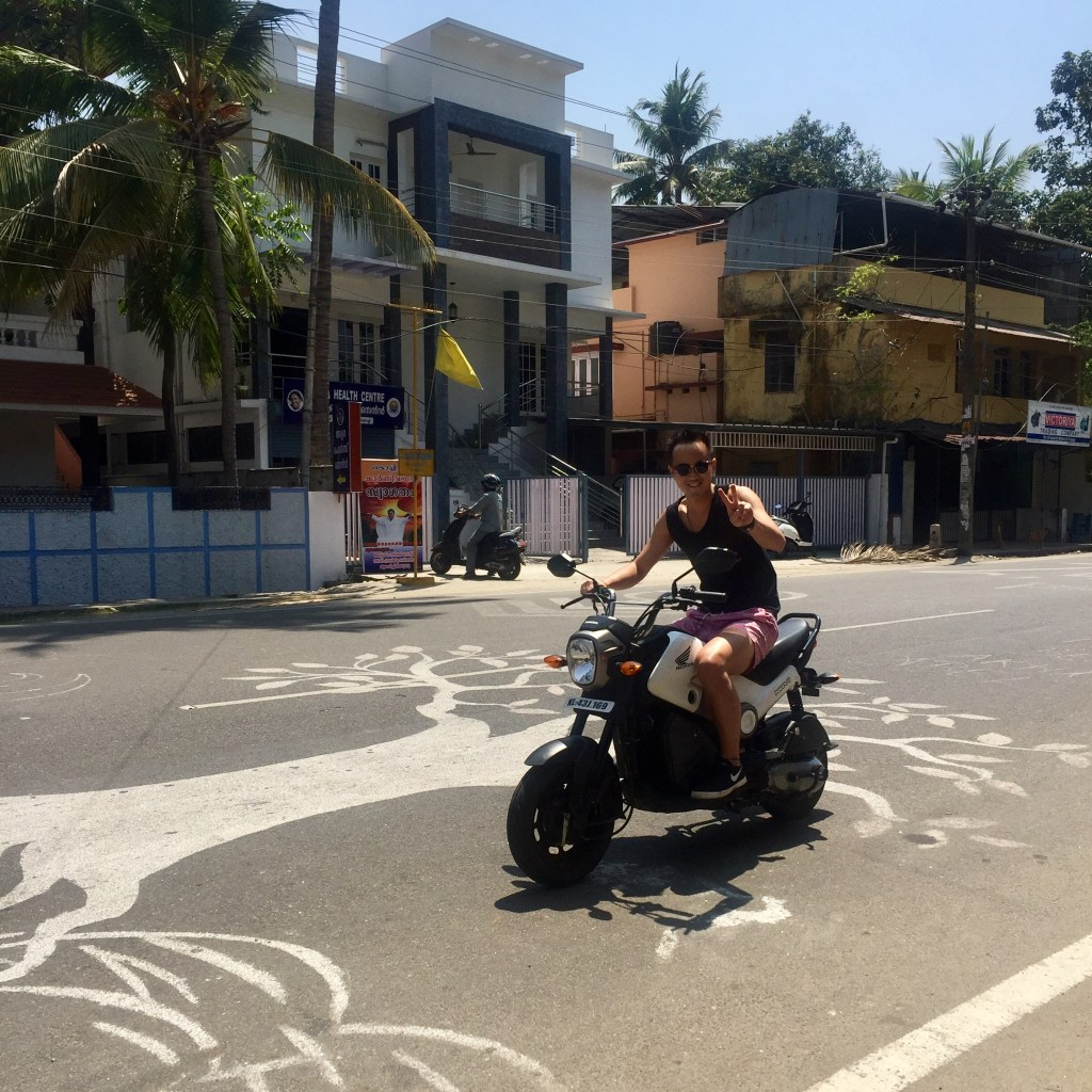 Fort Cochin, India, Kochi, Motorbike, Riding, Jorden Teo