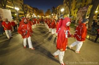 """Els de Torredembarra, """"desfilant"""" per la Rambla"""