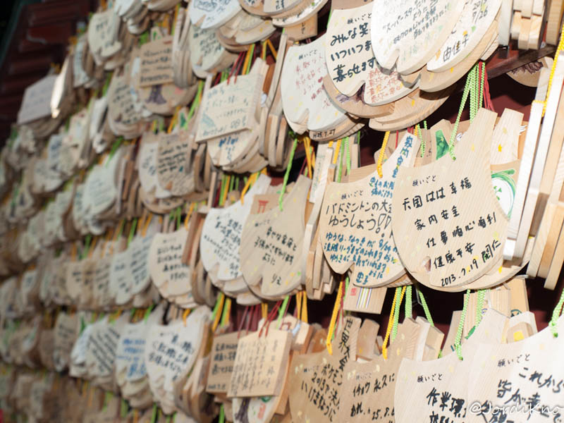 Ema, tablillas con deseos en los Santuarios Sintoístas