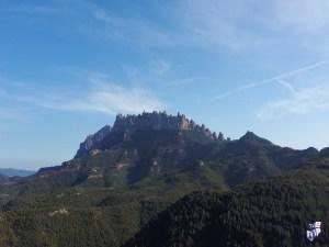 Montaña de Montserrat Vista desde diferentes puntos