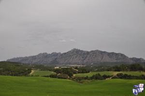 Vistas de la Montaña de Motserrat