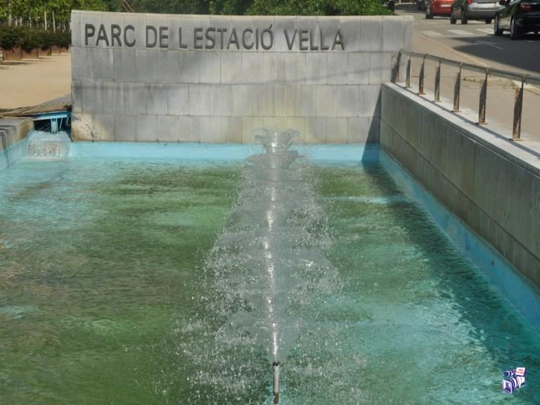Parque de la estación vieja de Igualada 03/06/2020