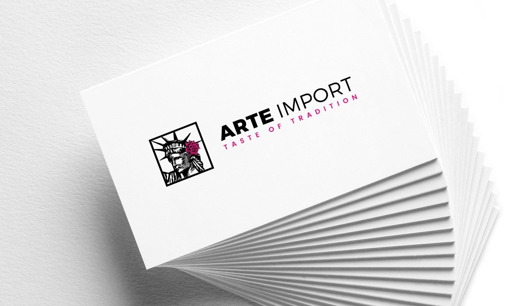 Arteimport Business Card