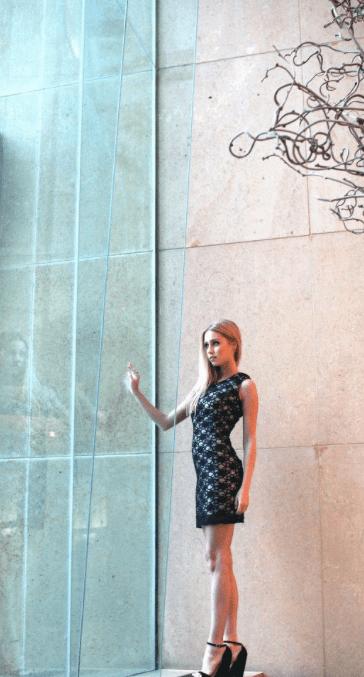 Model: Caroline Reason   Design: Rachel Damman