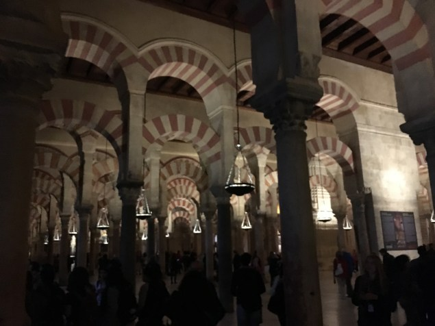Inside the Mosque!