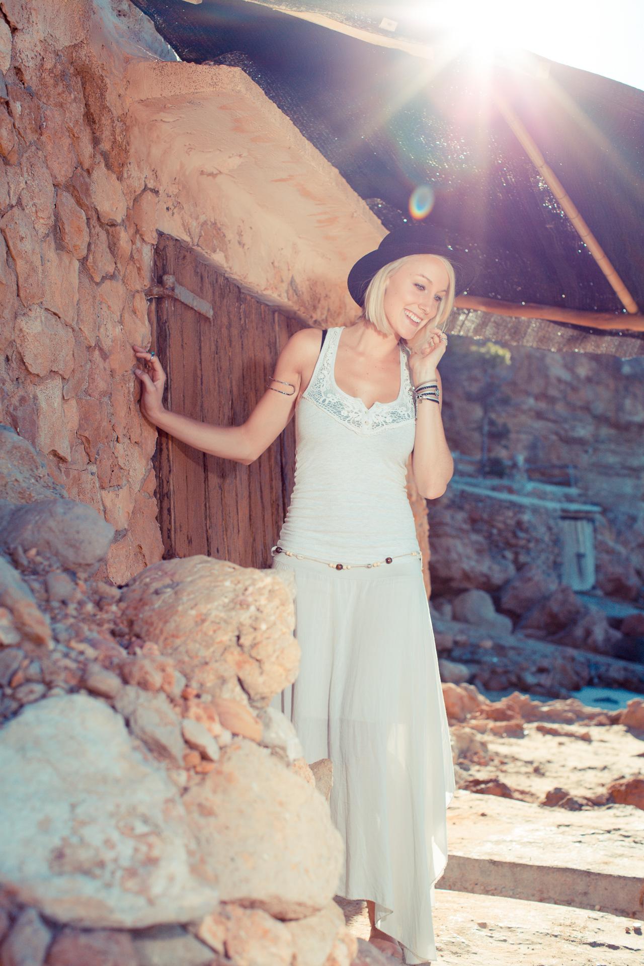 Locatie shoot Ibiza