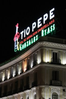 Tío Pepe Sol Madrid