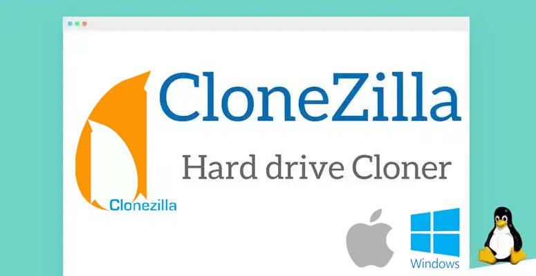Clonezilla, haz un archivo imagen de respaldo de un disco duro