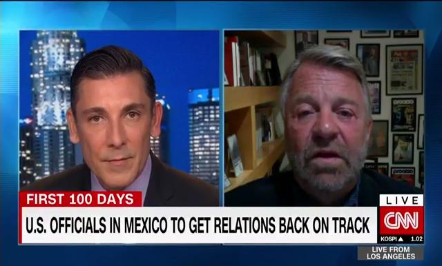 Entrevista con John Vause en CNN