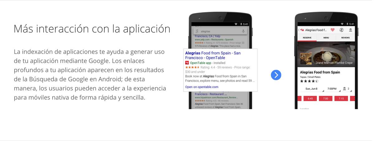 Indexación de aplicaciones: Un gran cambio en el SEO