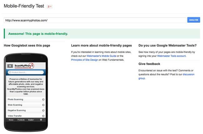 actualizacion google mobilegeddon