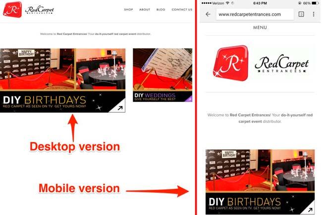 sitio movil comparacion google mobilegeddon