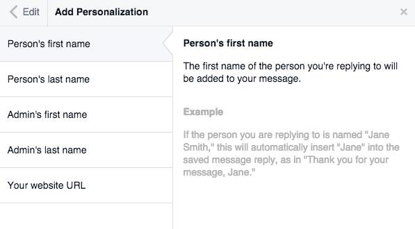auto respuestas en facebook