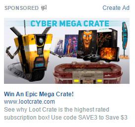 ejemplo de anuncio en facebook