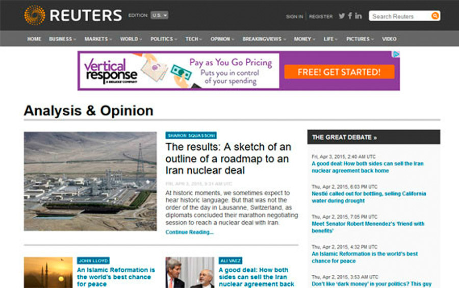 reuters wordpress