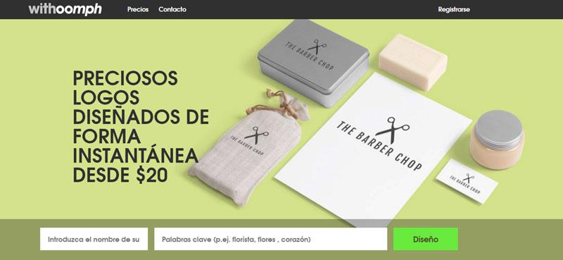 herramienta para crear logos en linea withoomph