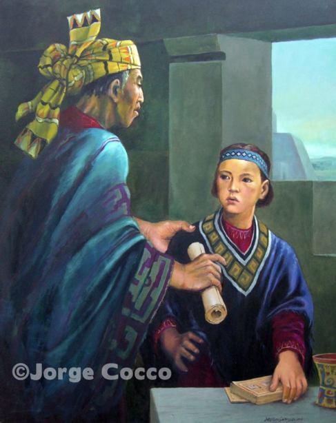 Ammarón y Mormón