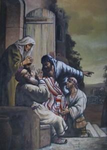 Jacob y el manto de José