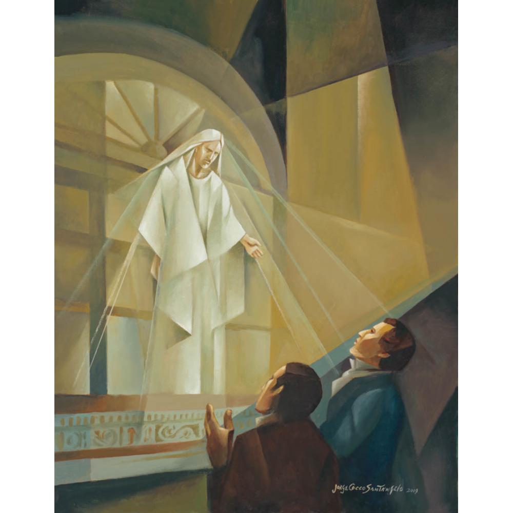 Vision at Kirtland Temple