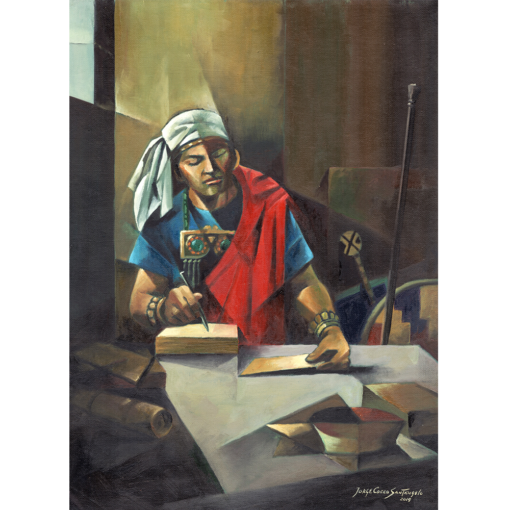 Moroni and the last pages