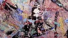 Detail of Paintings Acryl auf Leinwand 1996