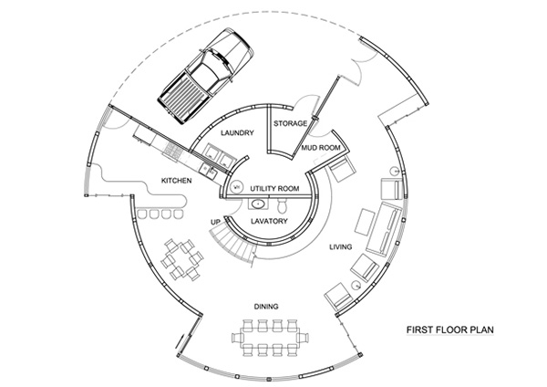Fiberglass House, Fontan Architecture