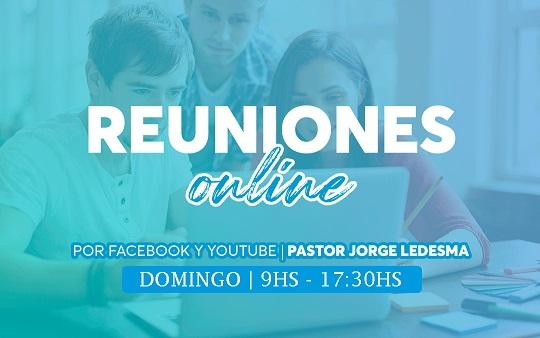 Domingo: Los Culto serán Online con Santa Cena