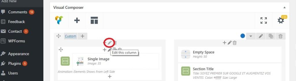 Éditer un site WordPress