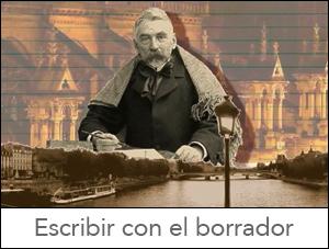 Jorge Santana Escribir con el borrador