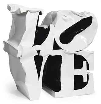 FAPO:__ACTIVIDADES__:__INVESTIGACIÓN__:Escritura_Tesis:_TESIS_:__casos_2a_MITAD:__nvas_otros_autores:_REMAKES_:_ESPACIAL_LOVE_1964:covers & citations » Robert Indiana, 'Love', 1964_files:Gimhongsok, 'Love', 2010, enamel on steel, 155 x 160 x 80 cm.jpg