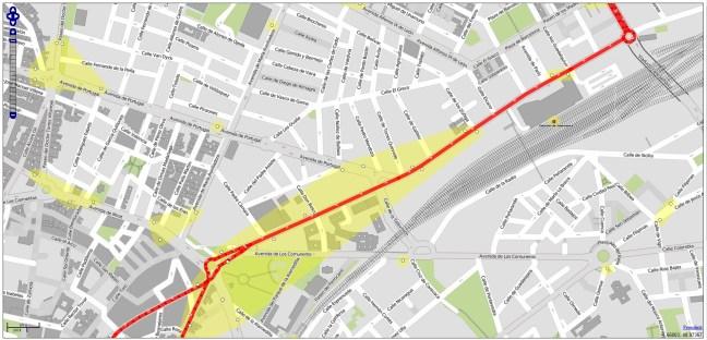 Transporte OpenStreetMap Salamanca