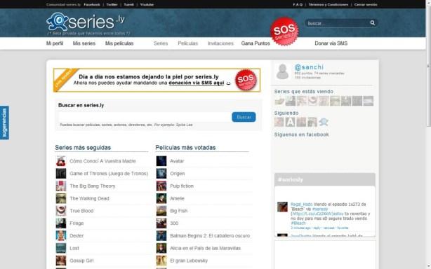 web de series