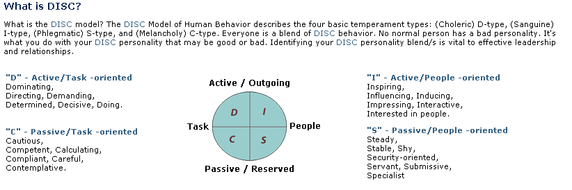 Disc Personality Test - Idee per la decorazione di interni - coremc us