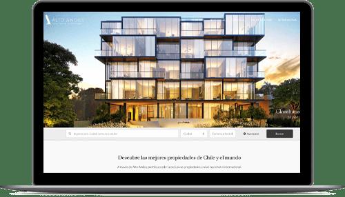 Sitio Web para corredores de propiedades